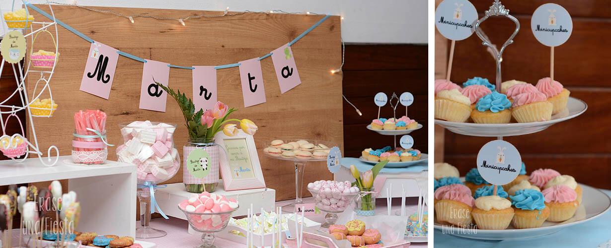 Mesa dulce bautizo por Erase una Fiesta